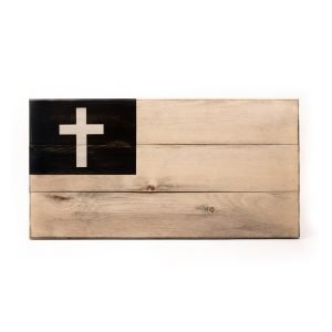 Image of Mission Small Unframed Christian Flag