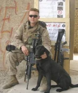 Image from Flags of Valor - Jeremy and K9